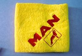 полотенца с логотипом